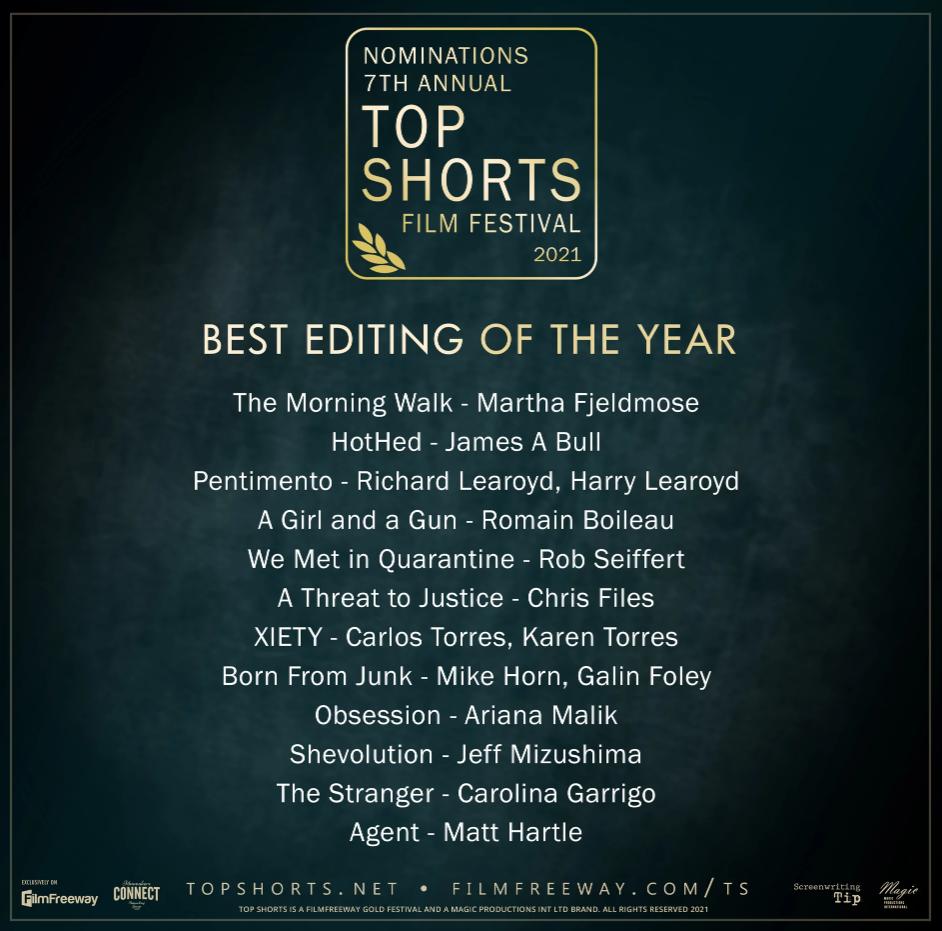 Top Shorts Film Festival - 7th Annual 2021